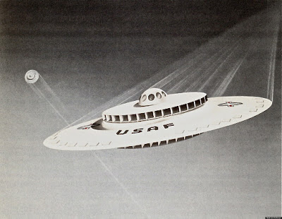 Declassified 1950s Flying Saucer vs WEAV the 2010s update